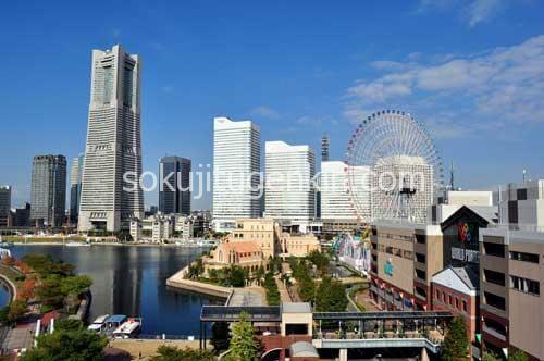 横浜は多方面からのアクセスも良くお買い物が沢山出来る場所なんです